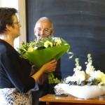 (Ger)-van-de-Velde-de-Wilde-burgemeester-tholen-opening-seizoen-2015-meestoof-bloemen
