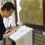 (Ger)-van-de-Velde-de-Wilde-burgemeester-tholen-opening-seizoen-2015-meestoof-gastenboek