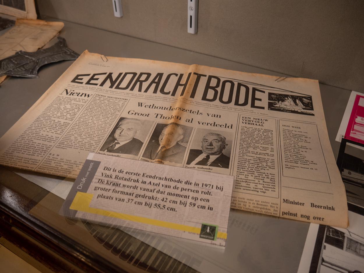 75 jaar Eendrachtbode expositie (2)