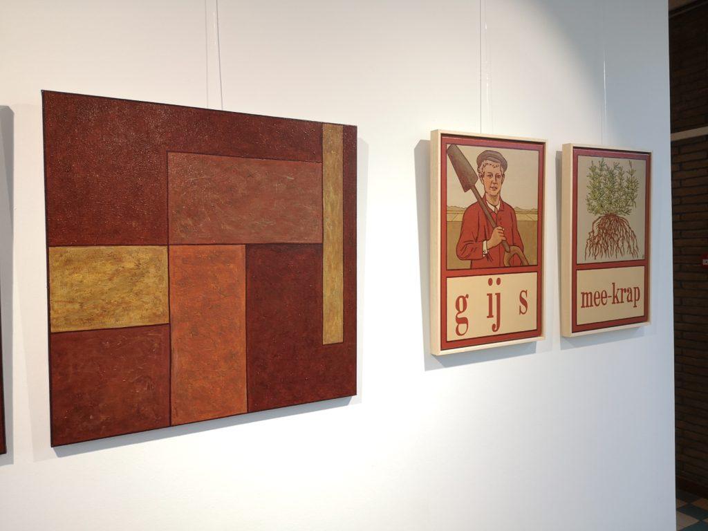 Tijdelijke tentoonstelling 'Schilderen met meekrapverf'